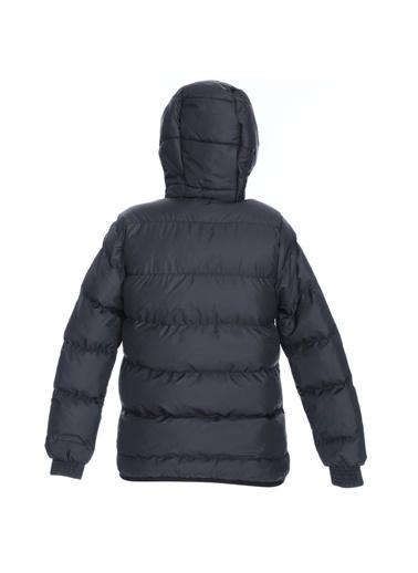 Sportive Çocuk Kırmızı Kapüşonlu Outdoor Mont B10007-Krm Siyah